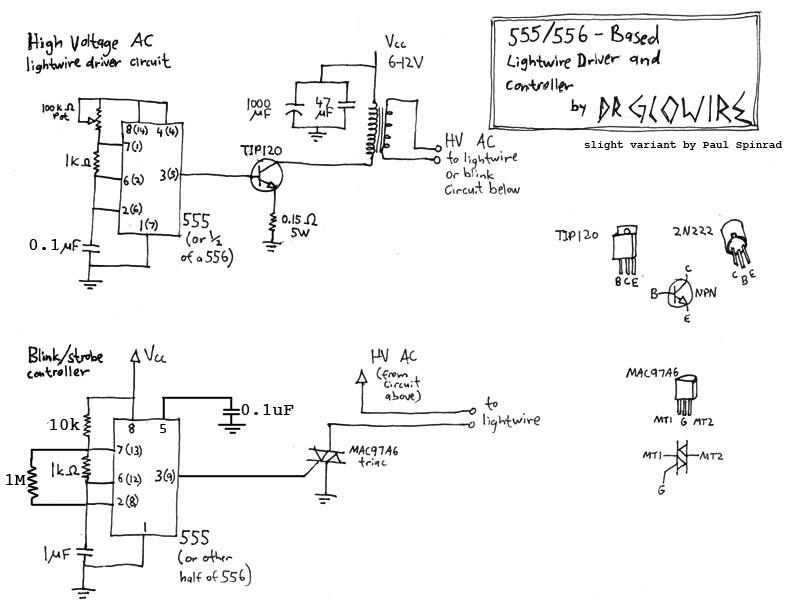 El wire driver schematic