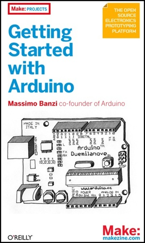 gswArduinoCover Getting Started with Arduino Book Giveaway