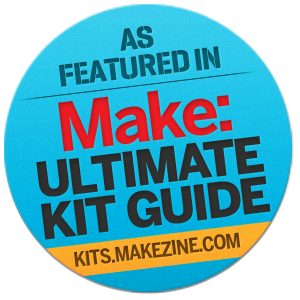 As Featured in MAKE Magazine: Ultimate Kit Guide
