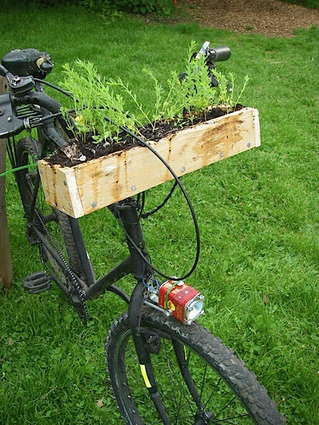 How-To: Bike Handlebar Planter