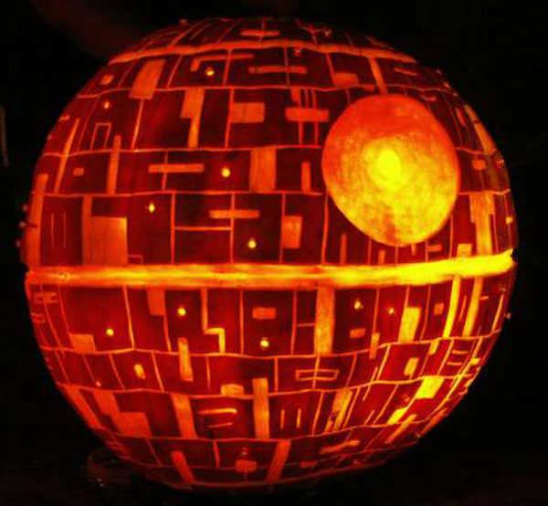 Star Wars Pumpkins | MAKE