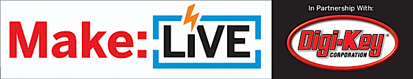 MakeLive BS Header 600x116 Make: Live 5/20/11 — Maker Faire Bay Area 2011 (video)