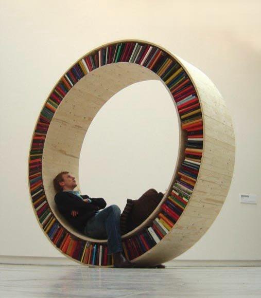 Innovative Bookshelves walk of life: innovative bookshelves