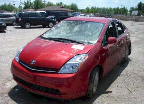 Trashed Toyota Prius Hybrids For sale