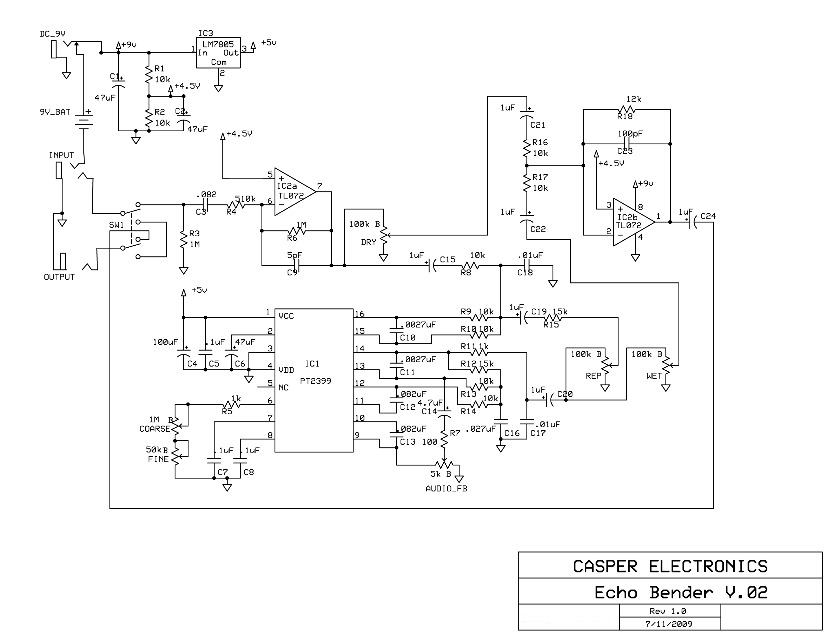 Echobenderrev02 digital delay pedal 19 steps (with pictures) toyota echo wiring diagram at alyssarenee.co