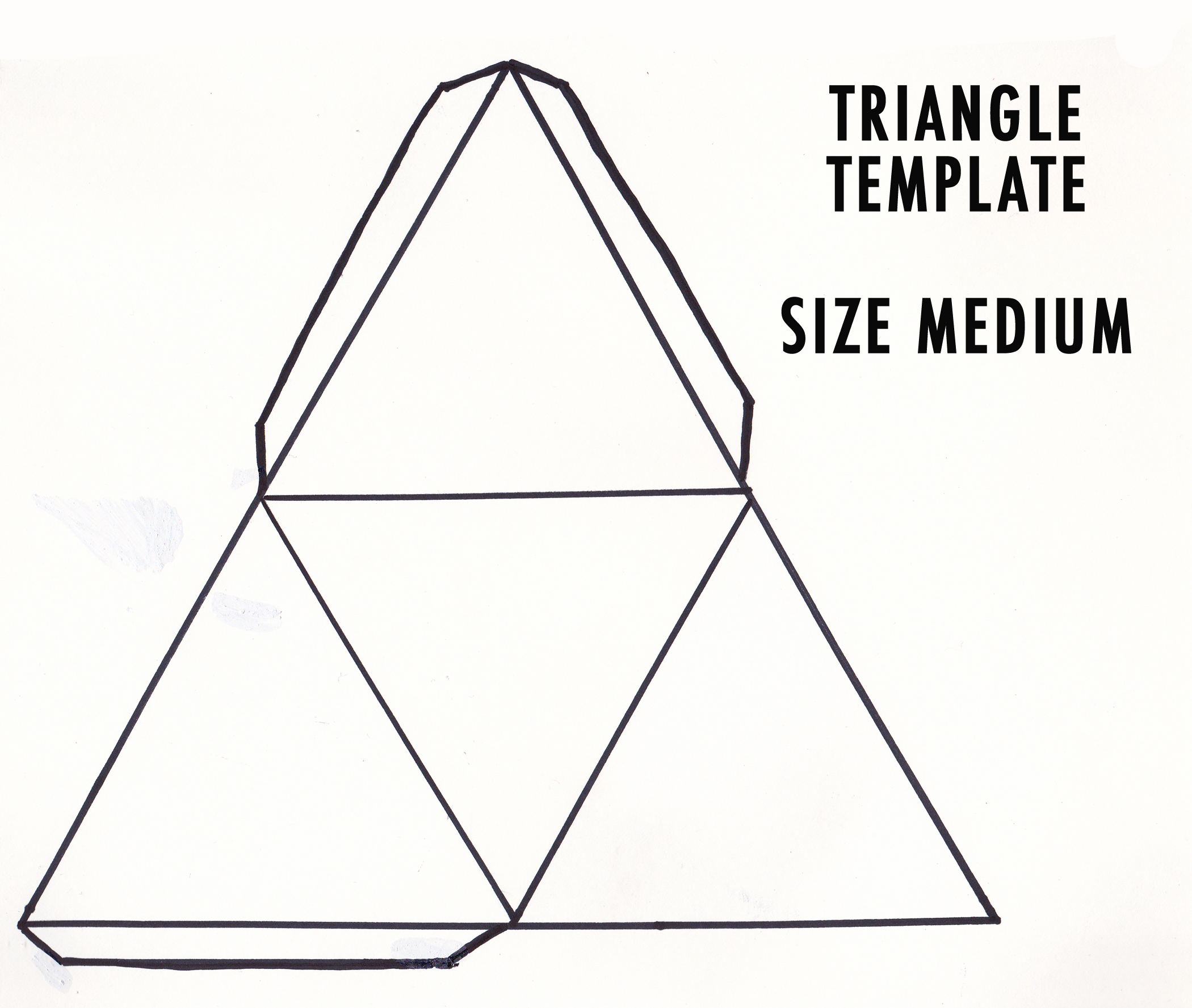 3D Triangle Template