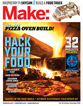 Make Magazine Cover