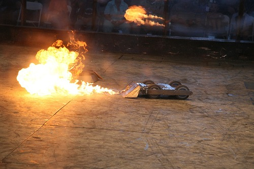 Robogames Fire