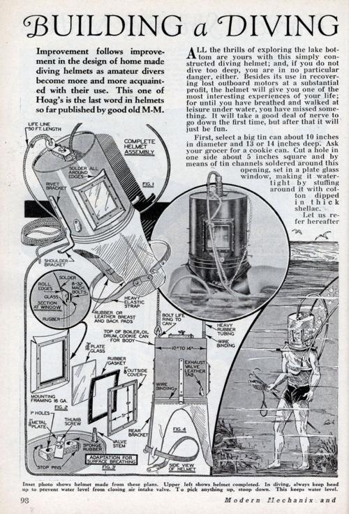 Xlg Diving Helmet 0