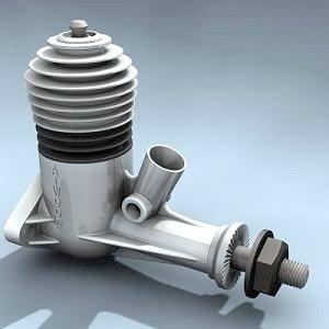 Photorealistic Model Engine Small
