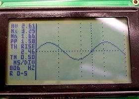 Pic18F2550 Glcd Oscilloscop