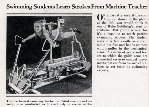 Lrg Swimming Machine