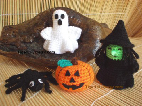 Halloween Amigurumi Crochet : A Closer Look: Etsy Halloween Amigurumi Crochet Patterns ...