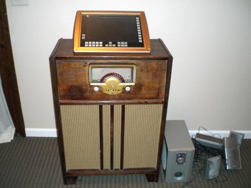 Homemade touch-screen jukebox