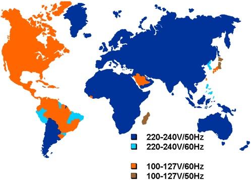Voltages Around The World