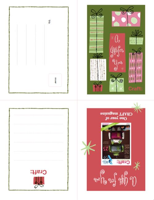 Craft Giftcard-1