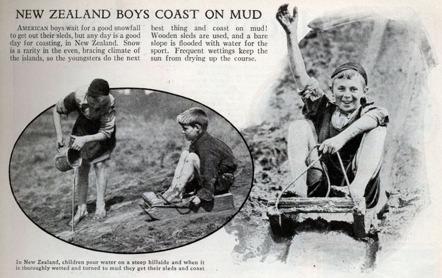 Med Coast On Mud