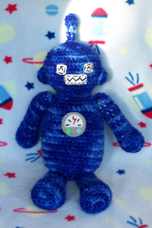 Amigurumi Robot Pattern Make: