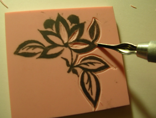 Stamp carving tutorial make