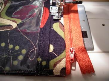 Top Stitch Zip 1