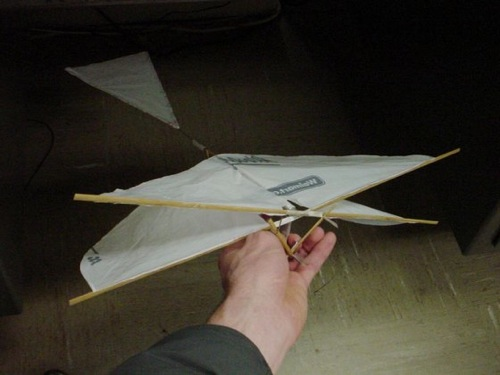How To Make An Ornithopter From Household Items Make