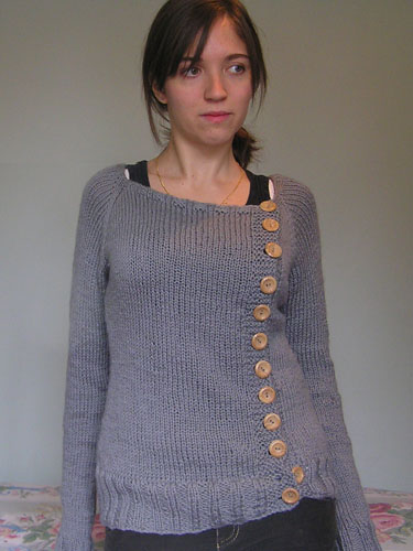 Button Down Sweater Knitting Pattern Make