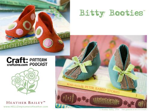 Craftpodcast Bittybooties