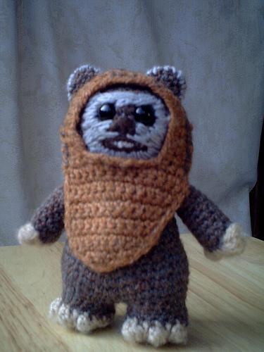 Ewok Crochet Amigurumi : Wicket the Ewok Crochet Pattern Make: