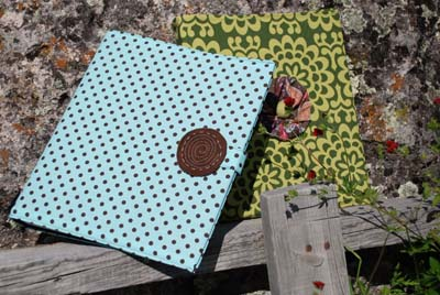 Fabric Binder Cover Tutorial Make
