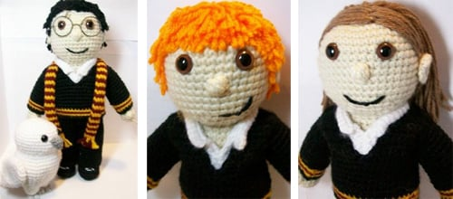 Ragdoll Harry Potter Free Crochet Pattern • Spin a Yarn Crochet | 220x500
