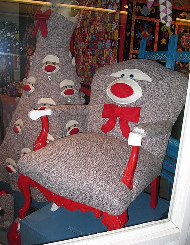 Sockmonkeychair