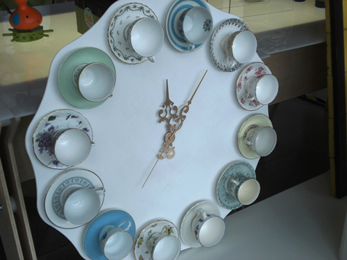 Tea Cup Clock Make