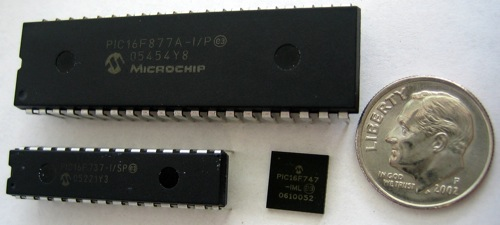 Wikipedia Commons 4 4C Pic Microcontrollers