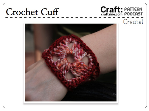 Craftpodcast Crochetcuff