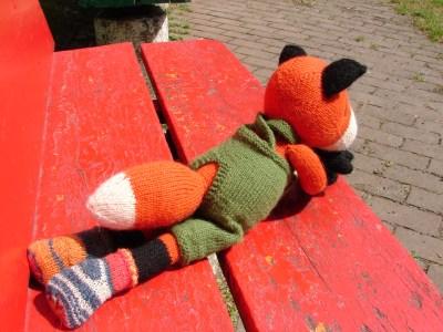 Farmer Fox Knit Pattern Make