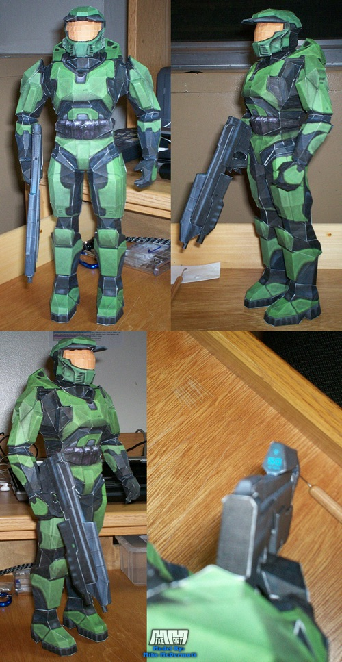 Master Chief Assembled By Billybob884