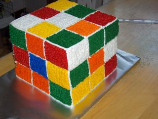 Rubikscubecake