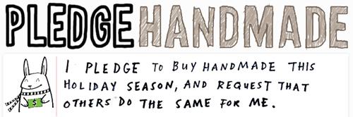 Buyhandmade Pledge