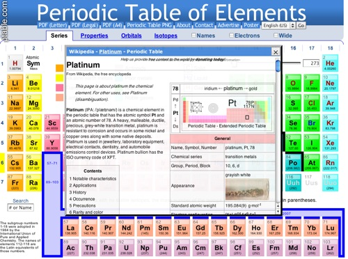 Periodic table ipad apps bcaa ictevangelist ptable periodic table download dynamic periodic table urtaz Gallery