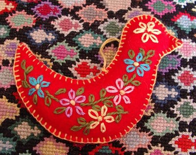 Embroidered Felt Ornament Tutorial | Make: