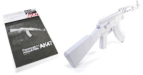 Papercraft AK-47 | Make: