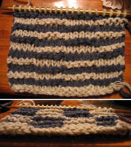 Illusion Knitting Pattern Generator : Hidden Pattern Knitting Make: