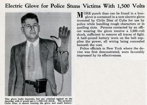 Lrg Electric Glove