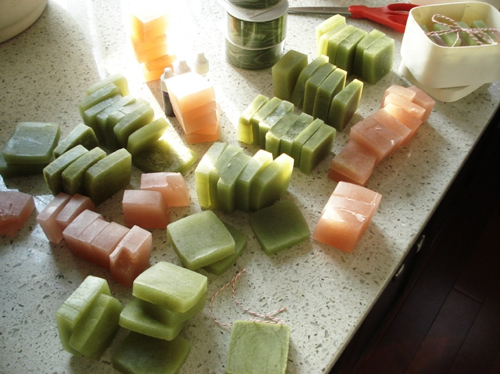 Sliced Soaps