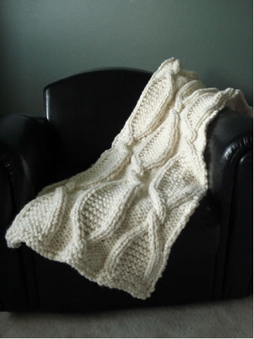 Cable Knit Stitch On A Loom : Knit Cables on Looms Make: