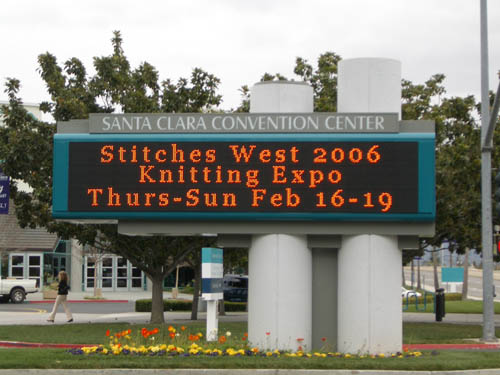 Stitches West 2006 Knitting Expo in Santa Clara, CA Make: