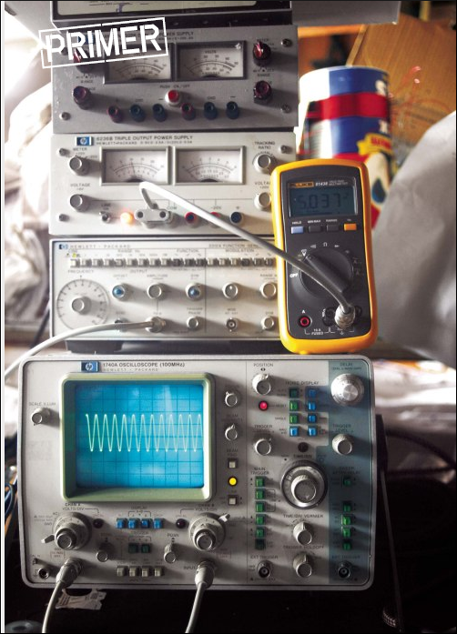 Electronic Test Instruments : Electronic test equipment a primer make