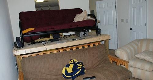 Pstam Projector Living Room