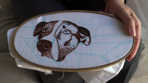 Create Your Own Embroidery Pattern From A Photo Craft Video