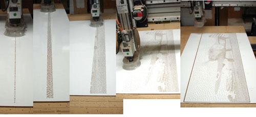 Cnc Phypixel Art Process